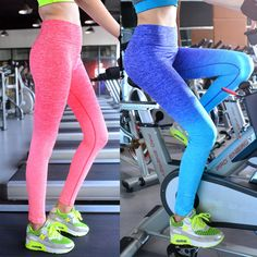 2016 New Women's Lady Sport Leggings Pants Patchwork High Waist Stretched Leggings Gym Fitness Yoga Pants Running Wear Size S-L #clothing,#shoes,#jewelry,#women,#men,#hats,#watches,#belts,#fashion,#style