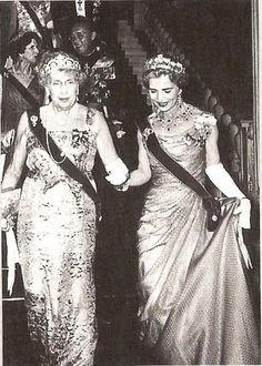 cotilleando:  Queen Ena of Spain and Queen Ingrid of Denmark