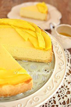 Mango, Ga In, Mets, Vanilla Cake, Cupcake Cakes, Cheesecake, Yummy Food, Sugar, Ethnic Recipes