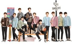 Ivy Club x Wannaone Ivy Club, You Are My World, Guan Lin, Produce 101 Season 2, Ong Seongwoo, Lee Daehwi, Kim Jaehwan, Ha Sungwoon, My Youth