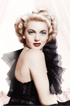 """Lana Turner -- in her own words -- """"A successful man is one who makes more money than his wife can spend.  A  successful woman is one who can find such a man."""""""