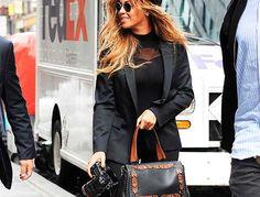 Ubierz się jak Beyonce - black total look, stylizacja,