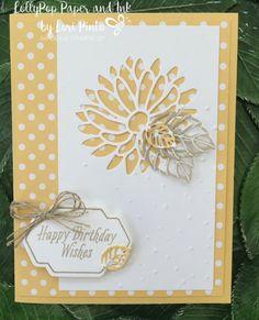 Stampin' Up! Special Reason Bundle Happy Birthday Wishes - Avant Garden