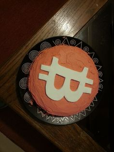 Cakes shaped like Bitcoins. What will they think of next?
