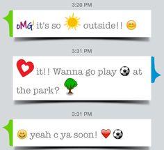 Have fun sharing custom emojis with friends! #emojireads #emoji
