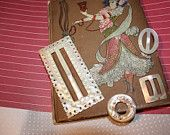 Cowboy Western Belt Buckle in Gold tones by VintagebyViola on Etsy