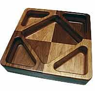 Make bowls and trays with your router and clear acrylic templates Router Projects, Wood Projects, Cnc Woodworking, Woodworking Projects, Cnc Wood Carving, Wooden Platters, Diy Cnc, Wood Router, Wood Bowls