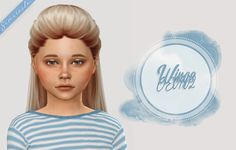 Sims 4 CC's - The Best: Kids & Toddlers Hair by Simracle - The sims - Bébé The Sims 4 Kids, The Sims 4 Bebes, Sims 4 Children, Sims 4 Cc Eyes, Sims 4 Cc Skin, Sims Cc, Toddler Hair Sims 4, Sims Baby, Sims4 Clothes
