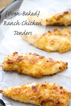 These chicken tender