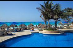 Zwembad, The Reef Playacar, Playa del Carmen, Mexico!