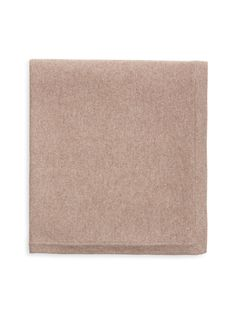 BARROW & GROVE - Cashmere Solid Throw Blanket