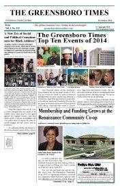 Greensboro Time December 2014 Edition