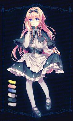 Harpae (Pocket Mirror RPG Game)   Simply wonderful. I loove her dress like wow