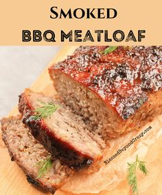 Meatloaf is not something too many people get excited about. So what is it about this meatloaf that makes it so special? Well, for starters it's gluten-free. Second, it's smoked. And... it's delicious! #meatloaf #grilled #smoked #food #recipes #glutenfree #blessedbeyondcrazy Bbq Meatloaf, Turkey Meatloaf, Meatloaf Recipes, Gf Recipes, Dinner Recipes, Free Recipes, Bbq Lamb, Smoke Bbq, Gourmet