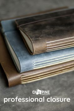 Our journals now come with a professional closure for easy opening and closing. They come in several sizes and colors plus they can be customized with initials, wording or most anything you want Leather Gifts, Handmade Leather, Leather Journal, Ox, Sketchbooks, Her Style, Journals, Pine, Bullet