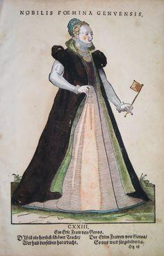 GENUA / GENOVA ITALIEN KOSTÜME COSTUMES WEIGEL 1577 | eBay