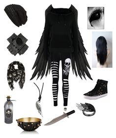 """""""Darkness follows-creepypasta oc"""" by twilightfreak18-1 ❤ liked on Polyvore featuring Rebecca Minkoff, Alexander McQueen, King & Fifth Supply Co., Only Play, Silver Kings, Whit, Arteriors and creepypasta"""