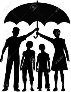 Bildergebnis für umbrella silhouette couple kiss with a child Couple Silhouette, Silhouette Clip Art, Crayon Crafts, Crayon Art, Umbrella Insurance, Kids Vector, Melting Crayons, Diy Canvas, Art Plastique