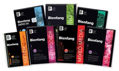 NEW! Bienfang Artist Paper Pads. Made in Canada, featuring acid-free papers for all types of creative expression.