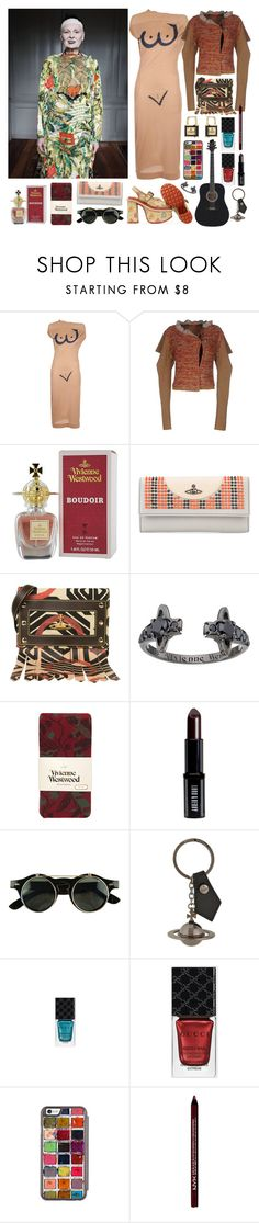 """""""First summer melody with Vivienne Westwood"""" by nothingisnormal ❤ liked on Polyvore featuring Vivienne Westwood, Vivienne Westwood Red Label, Vivienne Westwood Anglomania, Lord & Berry, Gucci and NYX"""