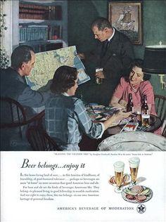Beer belongs; enjoy it (Jun, 1949) Yeah, right.