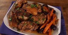 Délicieux poulet mijoté à la marocaine Confort Food, Pot Roast, Beef, Chicken, Ethnic Recipes, Desserts, Souffle, Sauce, Caramel