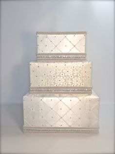 Wedding Card Box Ivory and Lace Classic Wedding Card Holder Wedding Card Box Gift Card Box Secure Lock