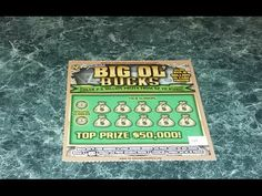 $50,000 Junior Big Ol' Bucks North Carolina Lottery