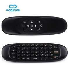 "HOT PRICES FROM ALI - Buy All in one air mouse Rechargeable Wireless remote control Keyboard for Android TV Box Computer Russian English Version"" from category ""Consumer Electronics"" for only USD. Consumer Electronics, All In One, Remote, Tv, Stuff To Buy, Accessories, Free Shipping, Android Computer, March"