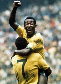Pele is the worlds greatest player, ever to play football. Messi will not come close to his goal record.