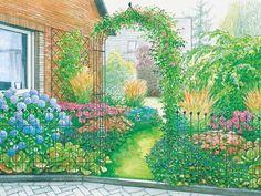 Alle Jahreszeiten im Garten