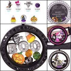Origami Owl {Halloween Collection} #origamiowl #halloween2015 #jewelry Visit Ashley's Website @ www.asaylor.origamiowl.com