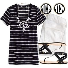 """""""Black & White"""" by qtpiekelso on Polyvore"""