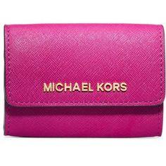 MICHAEL MICHAEL KORS Jet Set Travel Leather Coin Purse