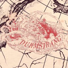 Wizarding School Durmstrang with name
