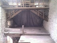Mill house after sodablasting