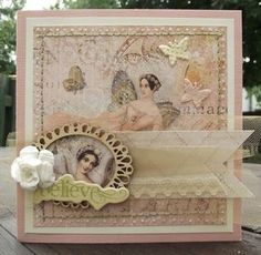 Mapie - kit Fairy Belle de Prima - Art du scrapbooking