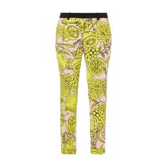 #Marc #Cain #Collections #Stoffhose mit #Obst-Prints fanduuml