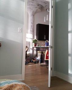 Sherwin Williams Sea Salt Paint Color Schemes - Interiors By Color Light Blue Paint Colors, Light Blue Paints, Foyer Paint, Dining Room Paint Colors, Most Popular Paint Colors, Best Paint Colors, Paint Color Schemes, Bedroom Color Schemes, Farmhouse Bedroom Furniture Sets