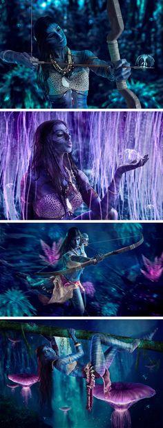 Na'vi (Avatar) | Michelle Monique Photography