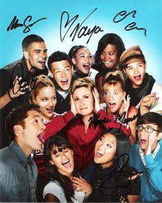 Glee Cast Signed Photo
