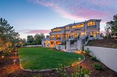 Silicon Valley Elegant and tranquil estate in Hillsborough. Listed by: Jim Arbeed   Coldwell Banker Previews International