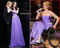 NewYorkDress Blog // Glee-Worthy Fashion // Click through for more Glee-tastic looks! // Dress: #SherriHill 1463