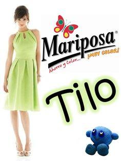 Colorante Mariposa Tilo.