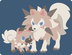 Pokemon sun and moon  Rockruff and Lycanroc