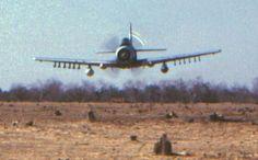 Skyraider low pass