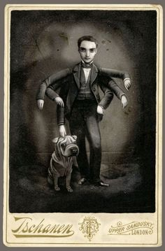 Made by: Benjamin Lacombe  - (Man with six arms)