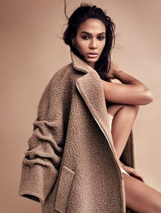 Joan Smalls by Marcus Ohlsson for Harper's Bazaar Germany
