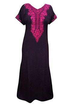 Mogul Interior Maxi Nightgown Dress Purple Neck Embroider... https://www.amazon.co.uk/dp/B01N4K6Z3G/ref=cm_sw_r_pi_dp_x_tpiGyb9XMV9HX