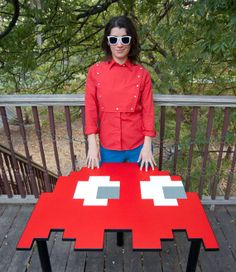 pac man red table Pac Man Tables